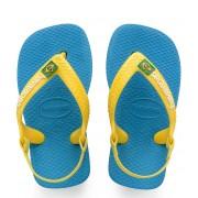 Havaianas Slippers Baby Flipflops Brasil Logo Groen