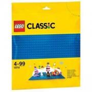 Плочка Лего Класик, Син фундамент, LEGO Classic, 10714