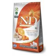 Farmina N&d Pumpkin Grain Free Adult Medium / Medio Maxi Merluzzo Zucca E Arancia 2,5 Kg