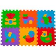 Jucarie copii puzzle BabyOno 277 6 piese Multicolor