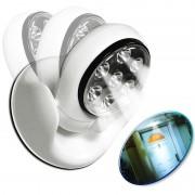 Vezeték nélküli mozgásérzékelős LED fali lámpa 360 fokban forgatható - Light Angel