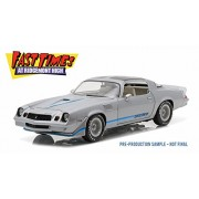 Fast Times at Ridgemont High 1979 Chevy Camaro Z/28 T-Top, Gray - Greenlight 12986 - 1/18 Scale Diecast Model Toy Car