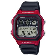 Casio Sports Ae1300Wh-4A Watch Red Black