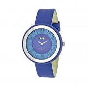 Crayo Celebration Leather-Band Watch - Blue CRACR3406