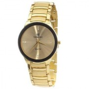 Iik Collection Golden Analog Watch By Hans-010