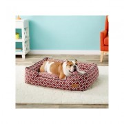 P.L.A.Y. Pet Lifestyle and You Moroccan Lounge Bed, Marsala, Large