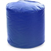 Home Story Round Ottoman Medium Size Royal Blue Cover Only