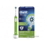 Perie de dinţi electrică Oral-B Pro 400 D16.513, verde