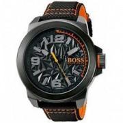Ceas barbatesc Hugo Boss 1513343 Negru Textil Quartz