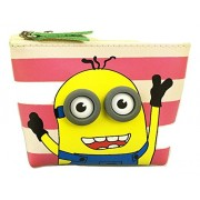 GlobalGifts Minion's Edition Desiginer Coin Pouch / Purse / Cartoon Attractive Designer and Stylish | Perfect for Gifting Purpose | Return Gift | Birthday Gifts Online / Minions Pouch / Minions pencil Pouch / Minions case / Cartoon Character Printed Super