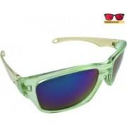Polo House USA Oval Sunglasses(Multicolor)