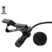 SEGGO Brnd ew Mini Professional Microphone Mic Collar Clip Microphone