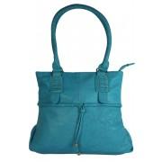 Bertha Blue střední dámská kabelka modrá