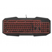 Trust Teclado Gaming TRUST GXT 830 (USB - Switch Rubber Dome)