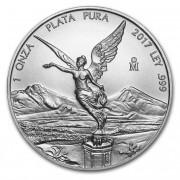 Stříbrná mince Mexico Libertad 1 oz 2017