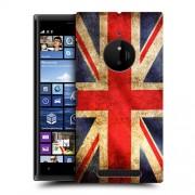 Husa Nokia Lumia 830 Silicon Gel Tpu Model UK Flag
