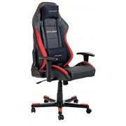 Scaun gaming rotativ DX-Racer negru/roşu