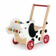 Antemergator Viga Toys din lemn Catelus
