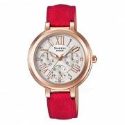 Reloj con varias manos casio SHE-3034GL-7B - oro rojo + rosa
