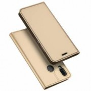 Husa Flip Cover Premium Duxducis Skinpro Huawei P20 Lite Gold