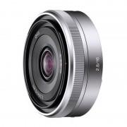 Sony SEL16F28 Objetiva E 16mm F2.8 SLR Tipo E Prateada