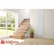 ZenSwiss Deluxe Niedrigenergie-Infrarotheizungen (Leistung/Grösse: 570W / 40 cm x 170 cm, Farbe: Matt Weiss)