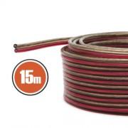 Hangszórókábel 2 x 0,5 mm² 15 m