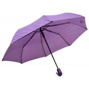 Umbrela Pliabila ICONIC Automata, Mov cu buline, Ø110cm, articulatii anti-vant
