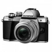 Aparat Foto Digital Compact Olympus E-M10 Mark II + EZ-M1442 IIR Argintiu