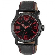 Fastrack Quartz Black Round Men Watch 3021NL01
