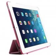 Capa Dobrável Inteligente Four-Fold para iPad 2, iPad 3, iPad 4 - Cor-de-Rosa