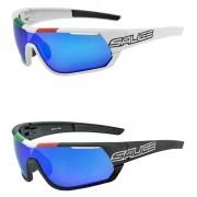 Salice 016 Italian Edition RW Mirror Sunglasses - Black/Blue