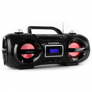 Majestic AH 234BT Aparelhagem Ghettoblaster Bluetoooth CD MP3 USB SD