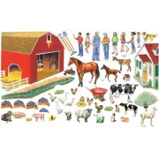 Grandpas Fun On The Farm Set 50 Precut Felt Figures For Flannel Board + Literature Small Size
