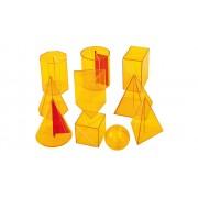 Betzold 10-teiliger Satz Geometriekörper aus Plexiglas
