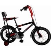 Bicicleta Copii Volare Chopper 16 inch cu Roti Ajutatoare Red-Black