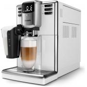 Espressor complet automat Philips EP5331/10, 6 băuturi, 1.8 L, 5 setări de măcinare, LatteGo, carafă pentru lapte 0,26 L, Filtru AquaClean, Alb lucios
