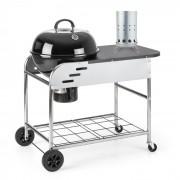 Meatpacker Set XXL Holzkohlegrill BBQ Smoker + elektrischer Anzünder