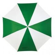 Umbrela Disco White Green