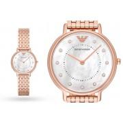 Emporio Armani Ladies Emporio Armani AR11006 Rose Gold Watch