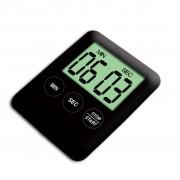 TRIBALSENSATION Electronic Timer Magnetic Kitchen Utensil - Black