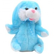 Dancing Singing Plush Cute Rabbit Bunny Soft Fluffy Toy (Blue)
