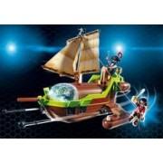 Playmobil Barco Pirata Camaleón con Ruby