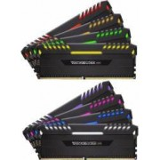 Kit Memorie Corsair Vengeance RGB LED 8x8GB DDR4 2666MHz CL16 Quad Channel