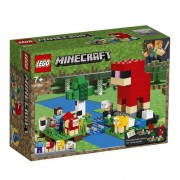 Lego Minecraft (21153). La fattoria della lana
