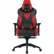 Scaun Gaming Achilles M1 L, Negru/Rosu