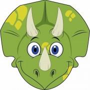 Shoppartners Dinosaurus maskertjes voor kinderen