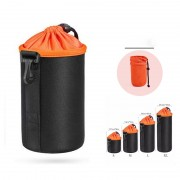 4Pcs/Lot Nylon Thicken Waterproof Pouch Protective Bag Case for DSLR Camera Lens