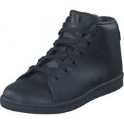 adidas Originals Stan Smith Mid C Core Black/Core Black/Core Bla, Skor, Sneakers & Sportskor, Chukka sneakers, Lila, Blå, Barn, 32