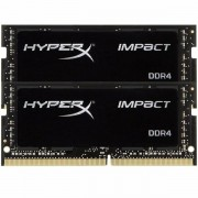 Kingston DRAM 32GB 2666MHz DDR4 CL15 SODIMM (Kit of 2) HyperX Impact EAN: 740617265392 HX426S15IB2K2/32